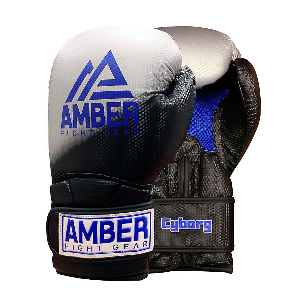 Cyborg utbildning GlovesBoxing kickboxning Muay Thai träning handskar Gel  Sparring slagsäck vantar 2542dd84cded1