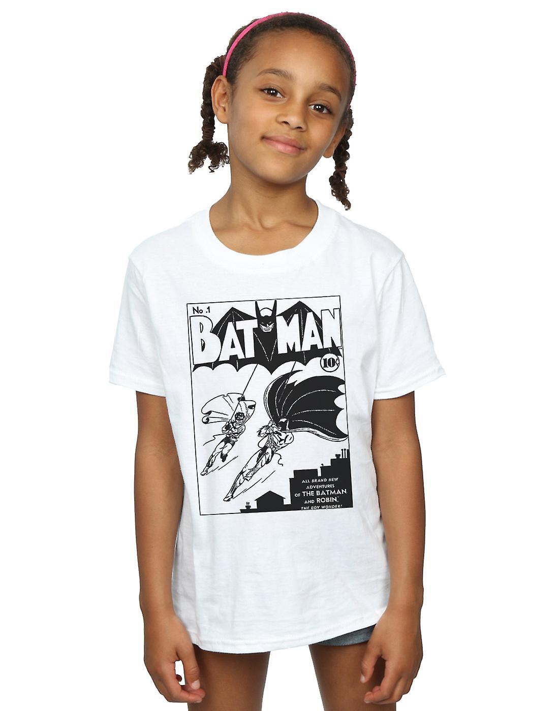 a6042519 DC Comics Girls Batman No. 1 Mono T-Shirt | Fruugo