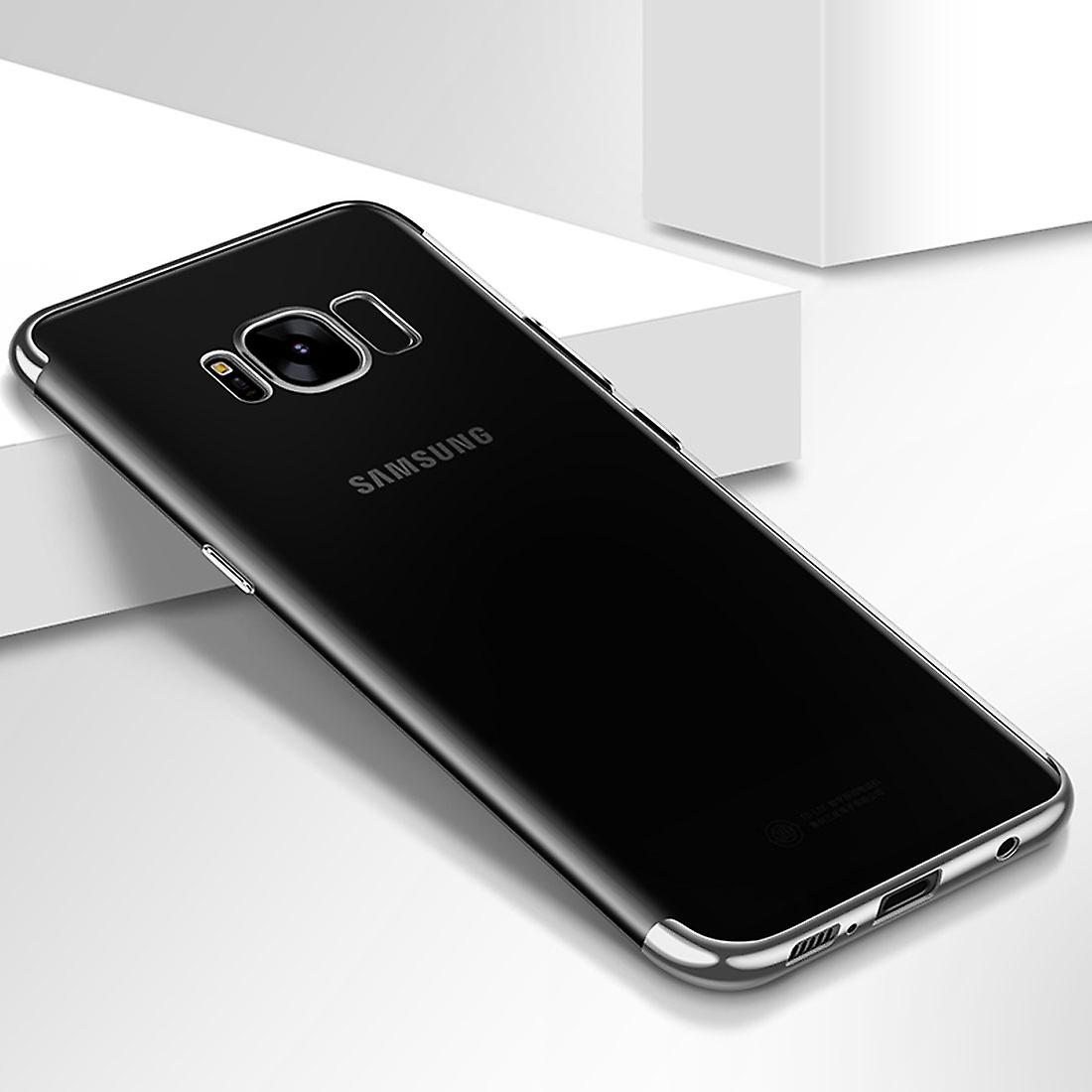 buy popular 73fd0 af26b Cell phone cover case for Samsung Galaxy A5 2017 transparent transparent  silver