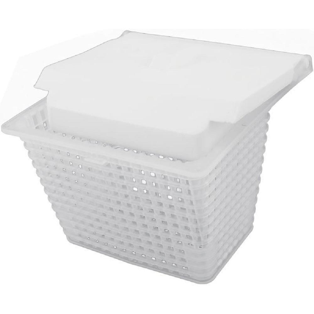 photos officielles b2725 fad25 Jacuzzi 43-0785-00-R SV Series Pool Skimmer Basket with Weir - White