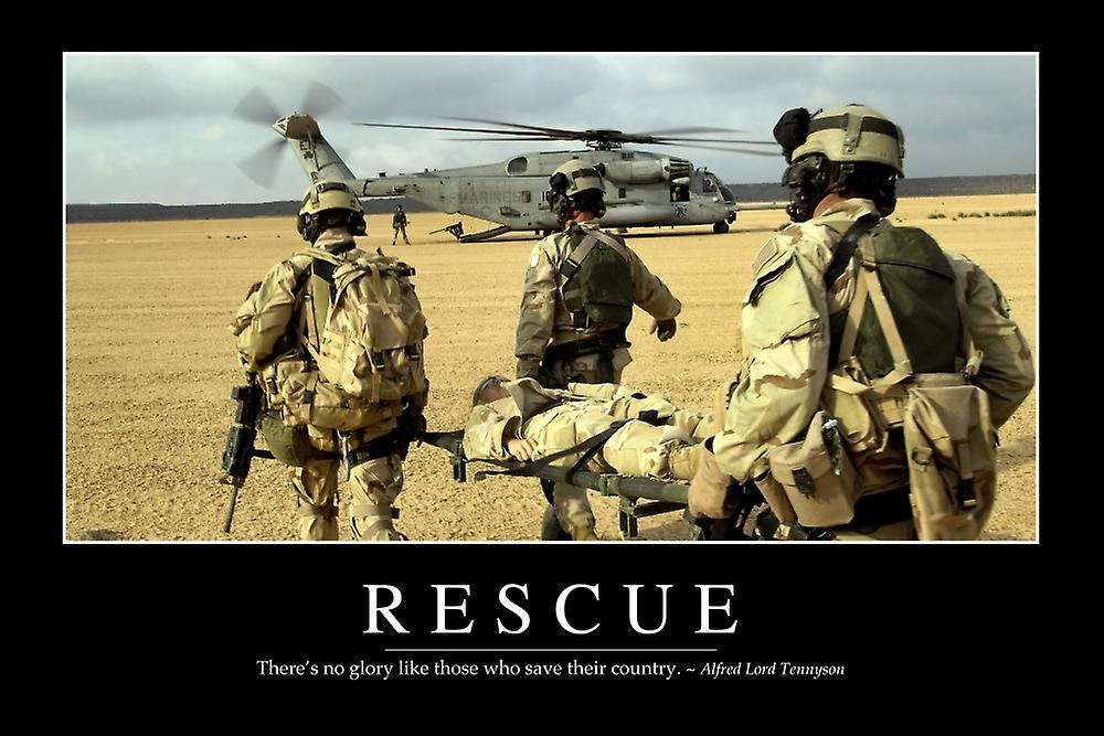 Inspirational military framed posters