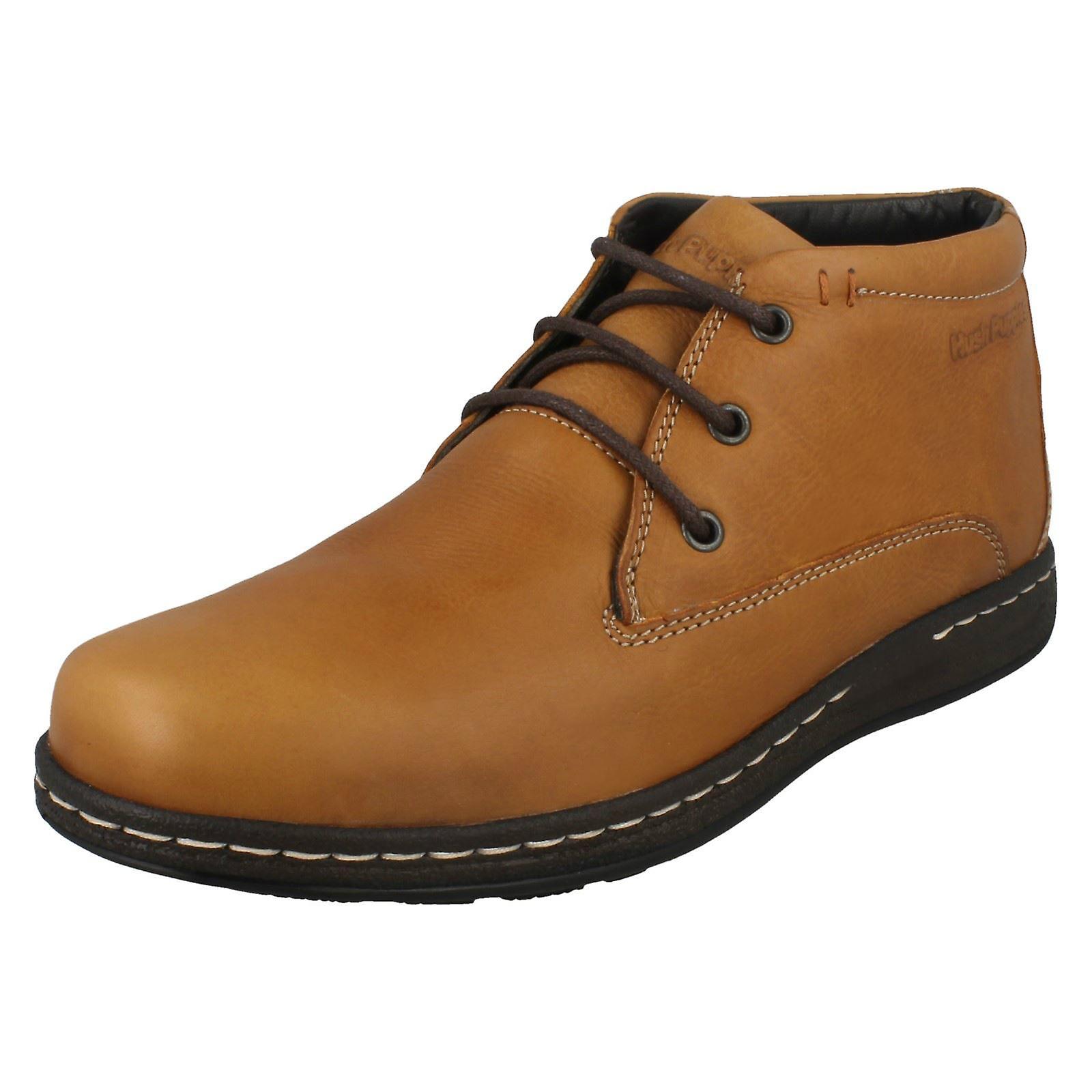 Boots schnüren