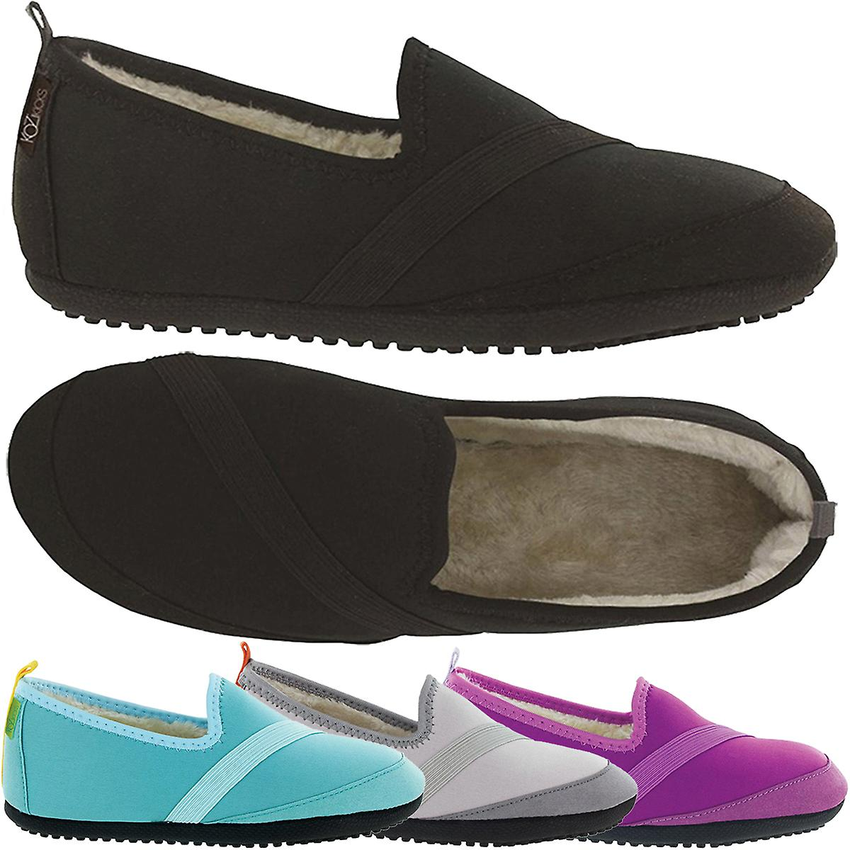 Plush Scratch Party Slip On Shoes