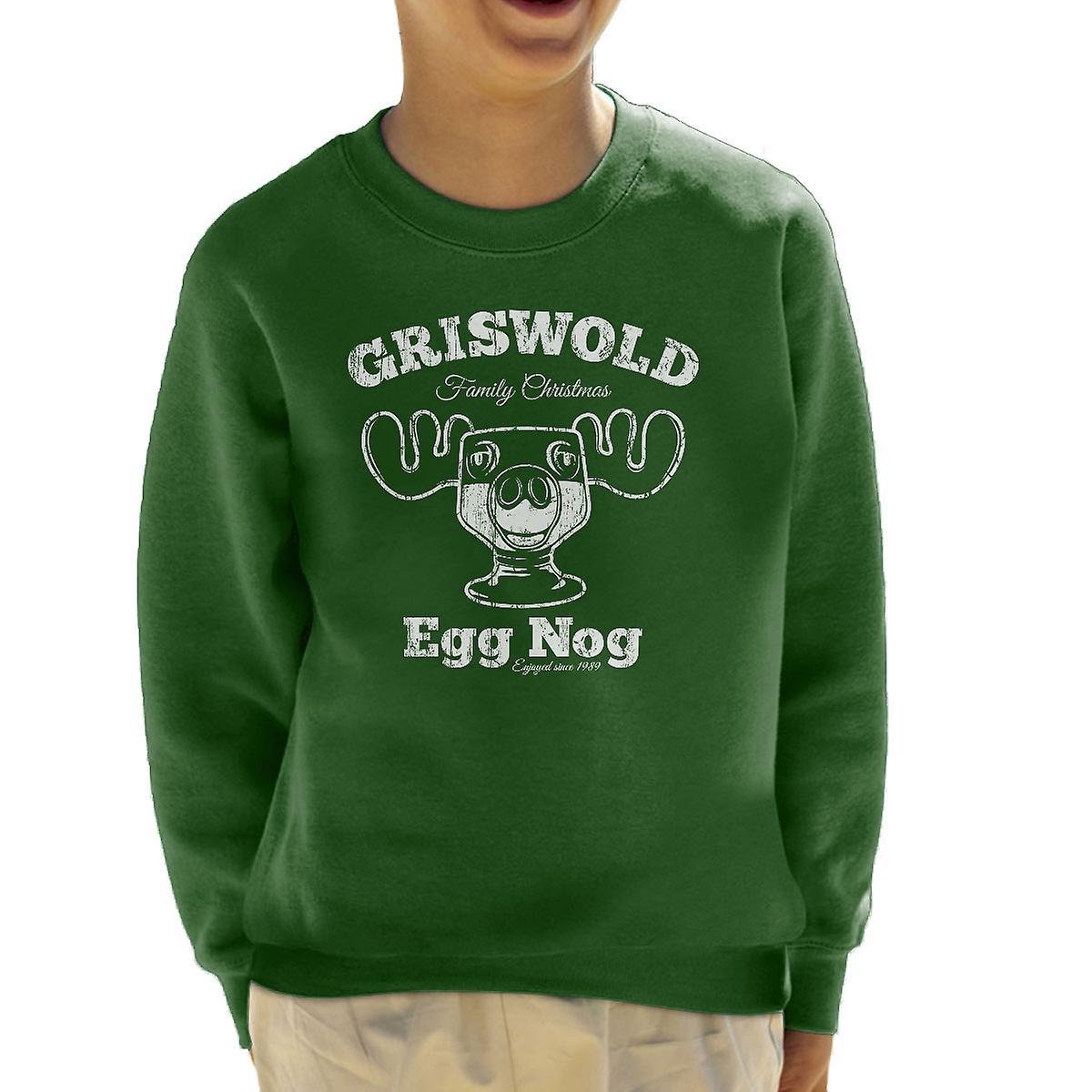 Griswolds Weihnachten.Griswolds Familie Weihnachten Egg Nog Kinder Sweatshirt
