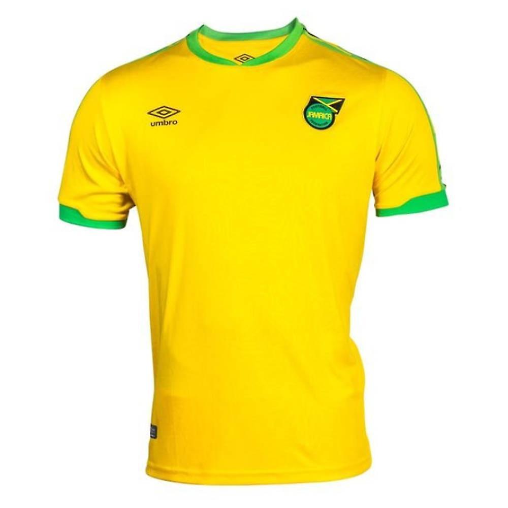buy online 89af0 162f8 2018-2019 Jamaica Home Umbro Football Shirt