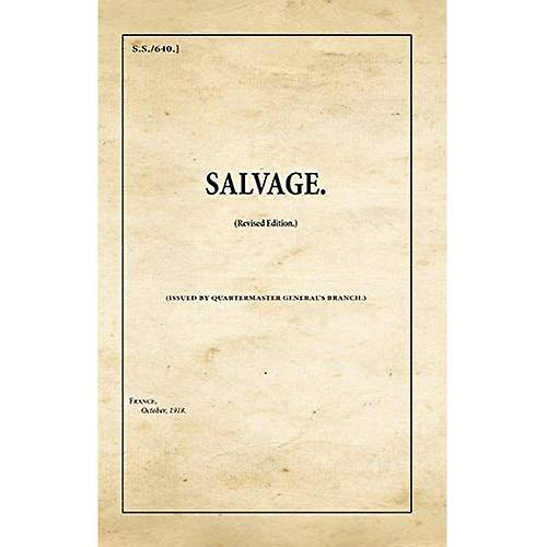 Salvage: SS640 (War Office Publications)