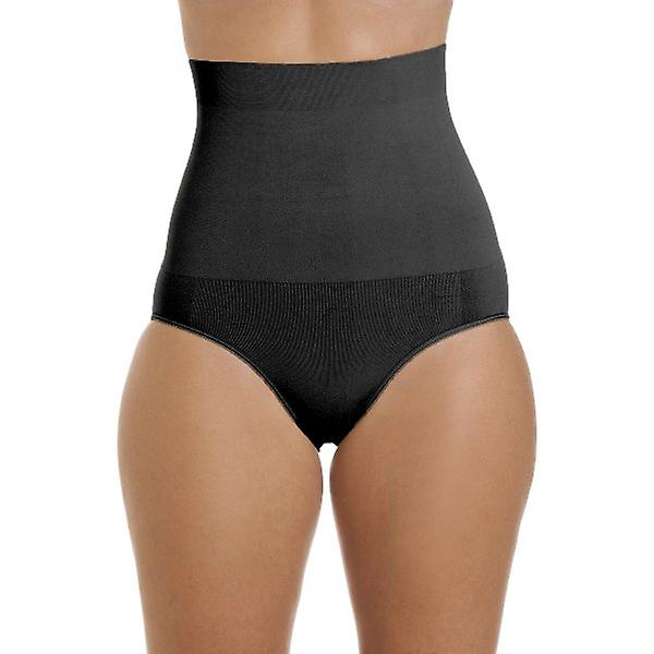 1c6cdfb3c24f Camille Womens Seamfree Shapewear Comfort Hi Waisted Control Brief In Black