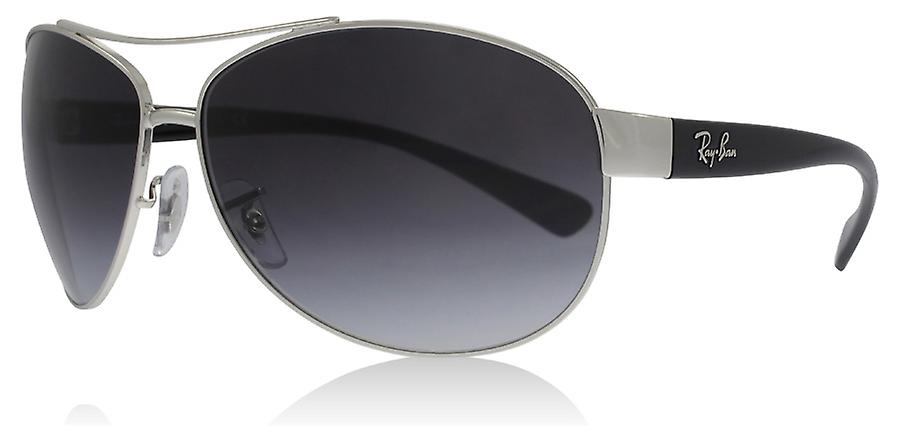 39a3d2239a8 Ray-Ban RB3386 003 8G Silver RB3386 Square Aviator Sunglasses Lens Category  3 Size
