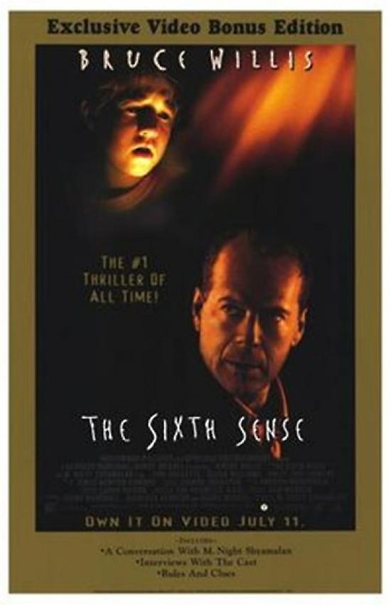 a review of the movie the sixth sense The sixth sense - young cole sear you've just experienced an uncommonly serious-minded movie that's brave enough to engage our deepest emotions on issues of.