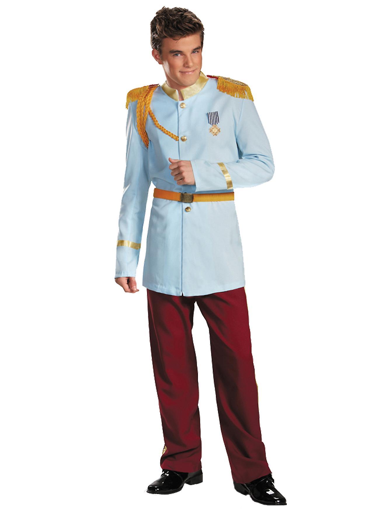 Prince Charming Prestige Deluxe Disney Princess Story Book Week Men Costume  XL