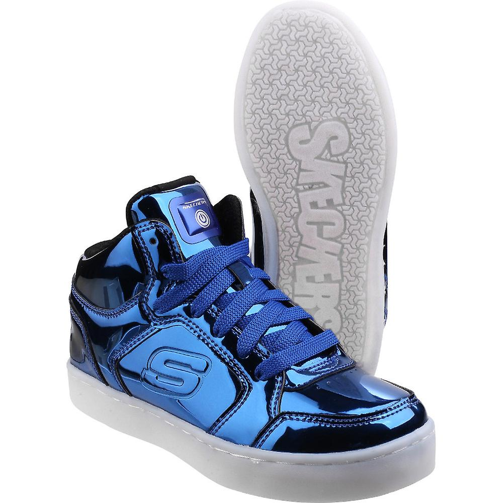Skechers Boys Girls Energy Lights Eliptic Light Up Trainers Shoes
