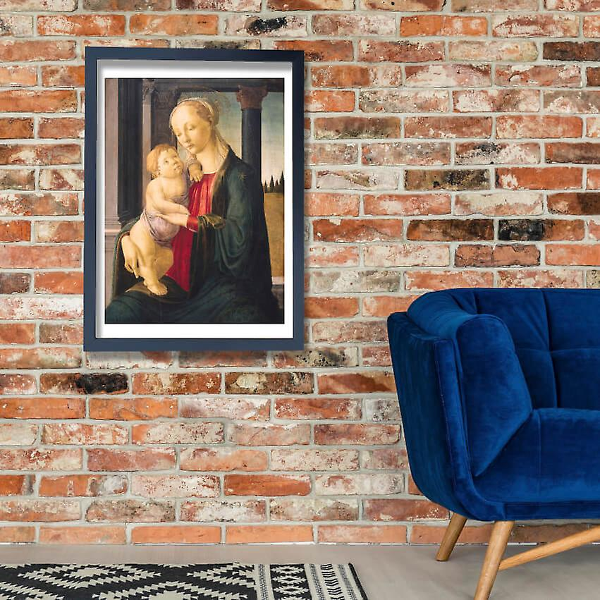 Sandro Botticelli The Virgin and Child Giclee Canvas Print Paintings Poster