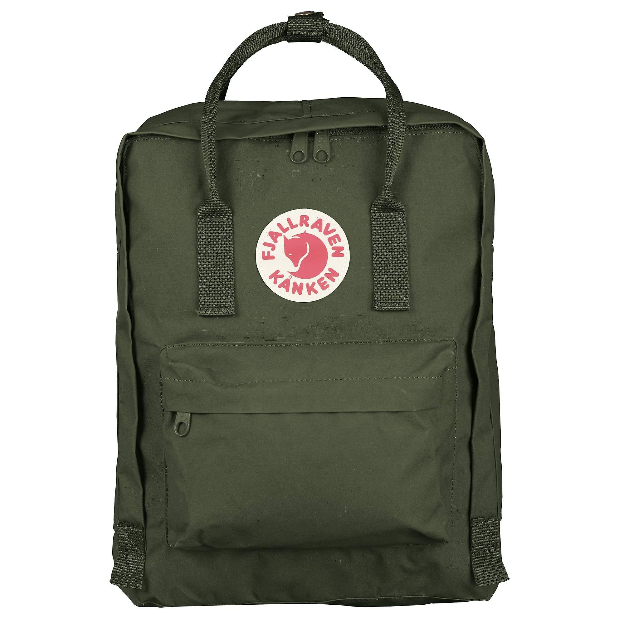 3d67b61403a8 Fjallraven - Kanken Classic Backpack for Everyday - Forest Green ...