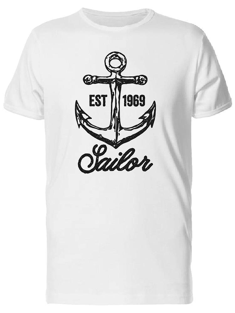 9a7de78ac09262 EST 1969 Sailor Anker T-Shirt Herren-Bild von Shutterstock