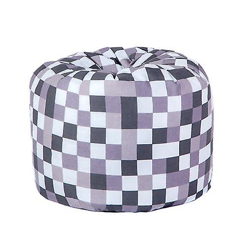 Enjoyable Small Childrens Design Polycotton Bean Bag Pixels Grey Ocoug Best Dining Table And Chair Ideas Images Ocougorg