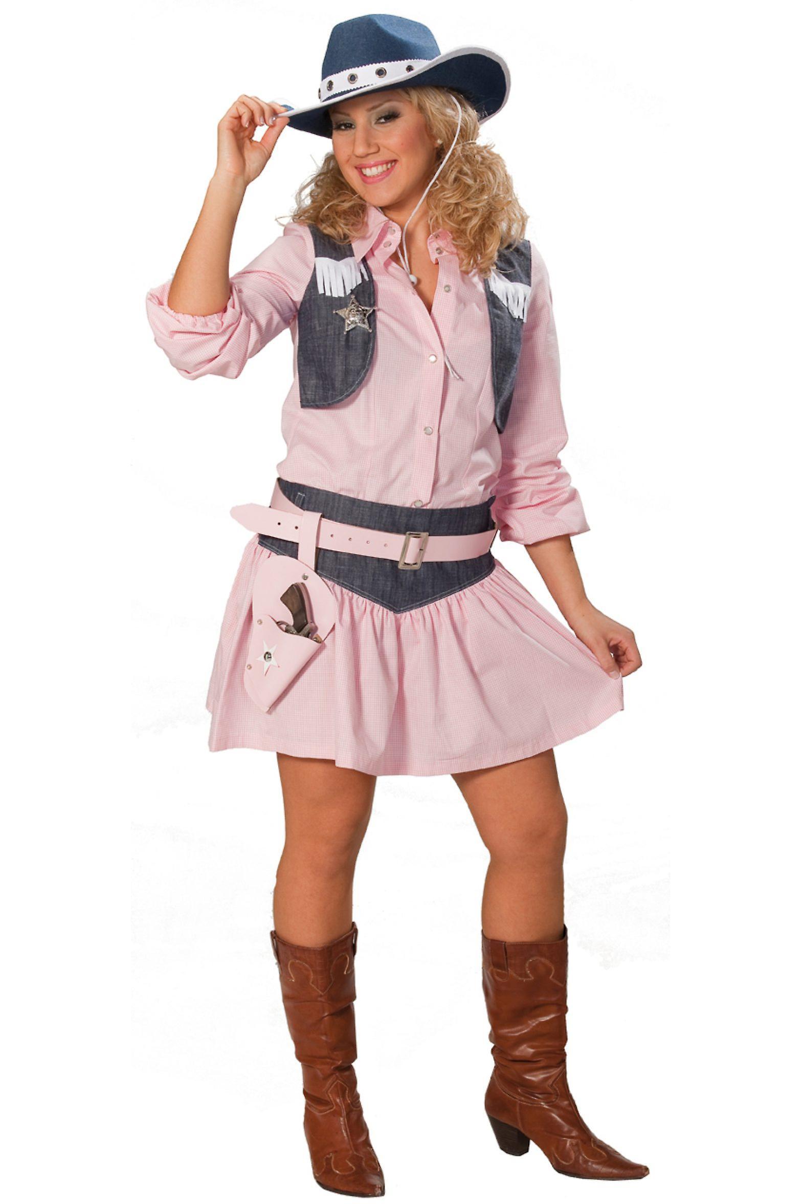 Kostuums Dames.Vrouwen Kostuums Dames Roze Cowgirl Gekostumeerd