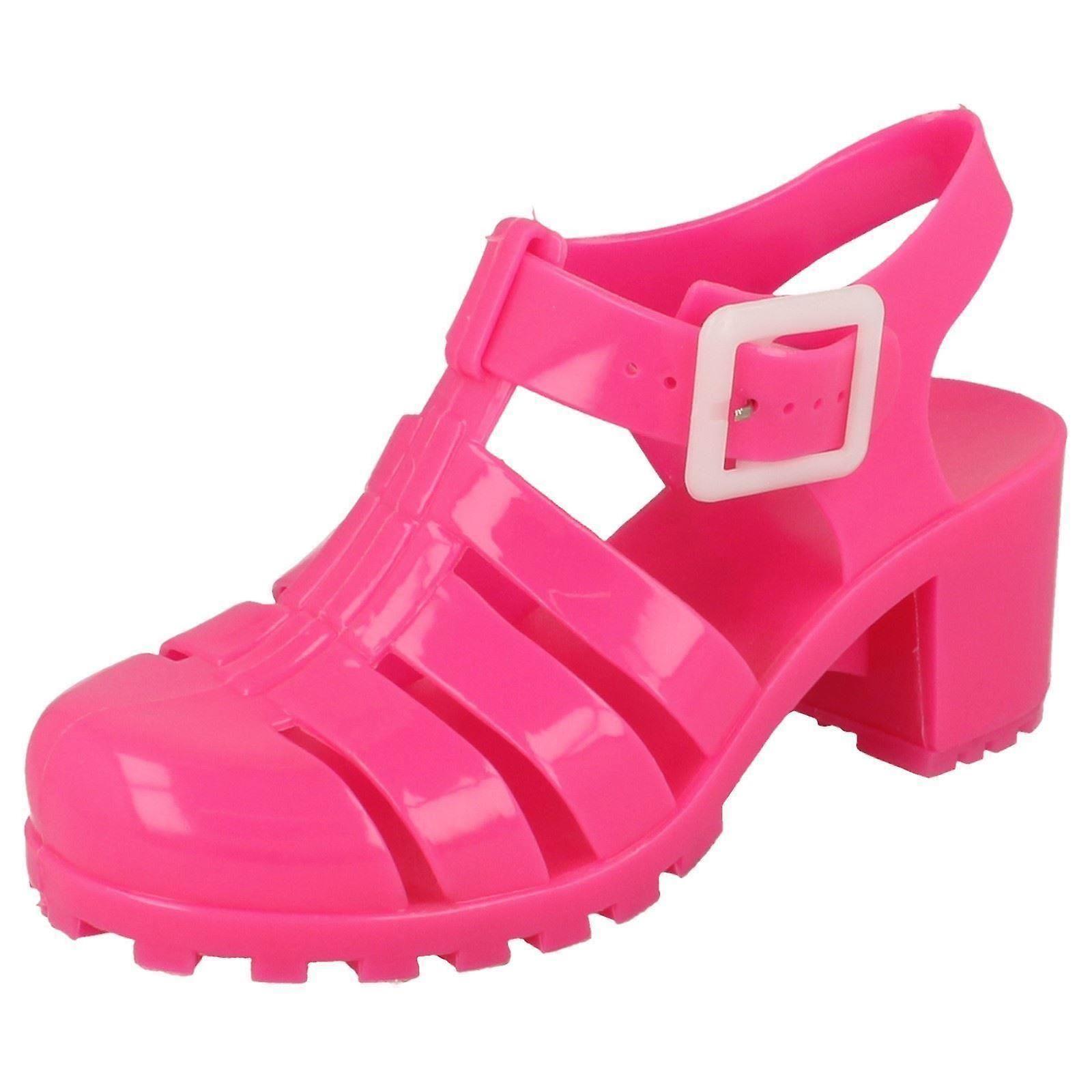 Jenter flekk på Heeled gelé sko | Fruugo Norge