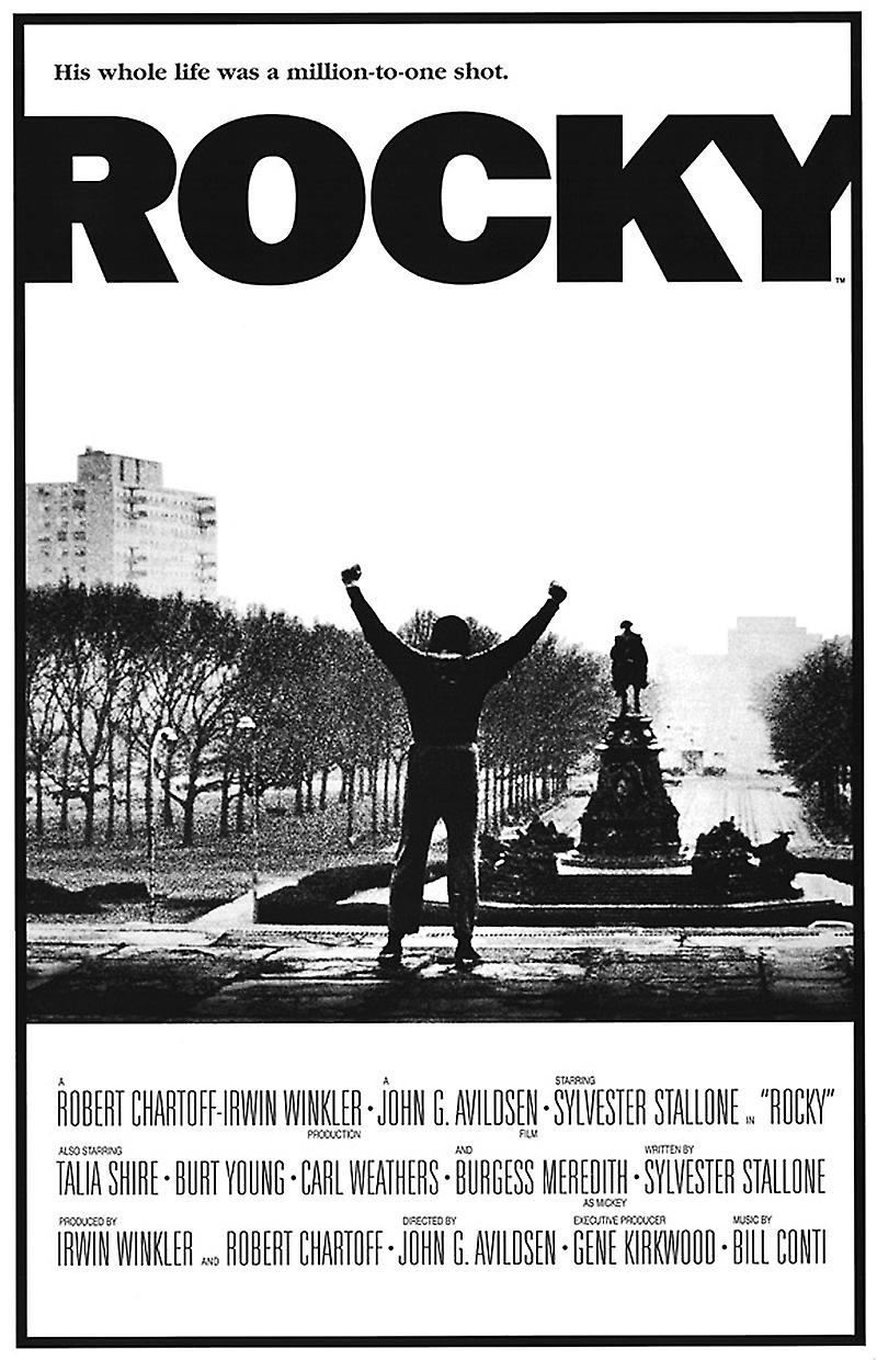 rocky 1976 essay Rocky film (1976) study guide movie packet preview the eighth and last page is a genre study page that asks students to analyze what is evident in rocky as a.