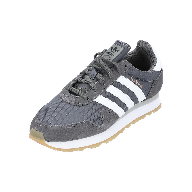 adidas Originals HAVEN Damen Herren Turn Schuhe Sneaker Sport Grau NEU OVP