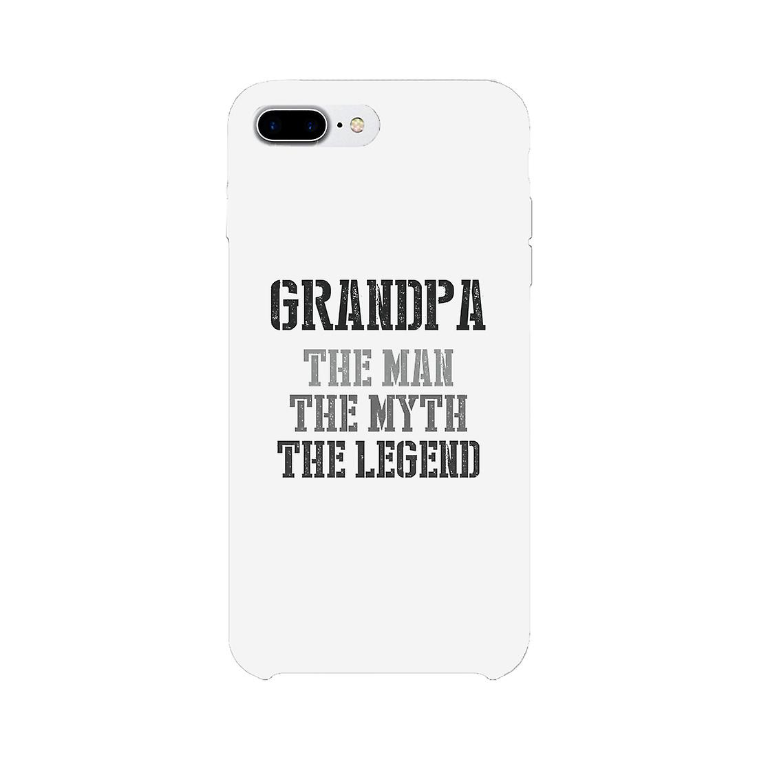 Legend Grandpa Case White Phone Cover Gifts For Birthday