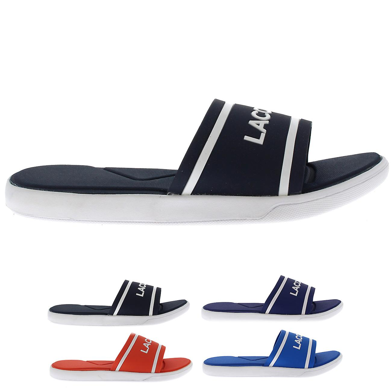 bb6a48fc961a6 Womens Lacsote Synthetic L.30 Slides Lightweight Open Toe Beach Sliders