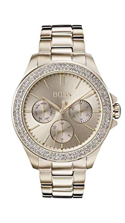 Hugo Boss Watch Men S Multi Dial Quartz Rose Gold Band 1502443 Woman