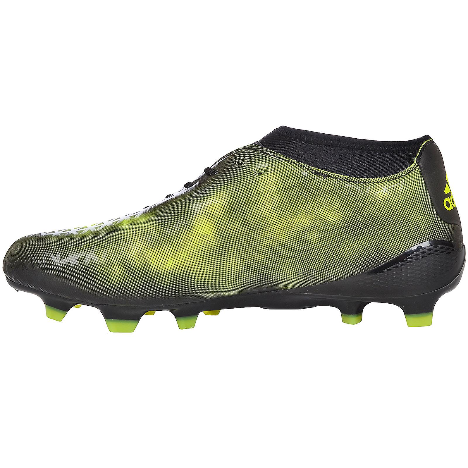 adidas Performance Mens adizero Malice Firm Ground Rugby Boots - Black  Yellow d00528be8
