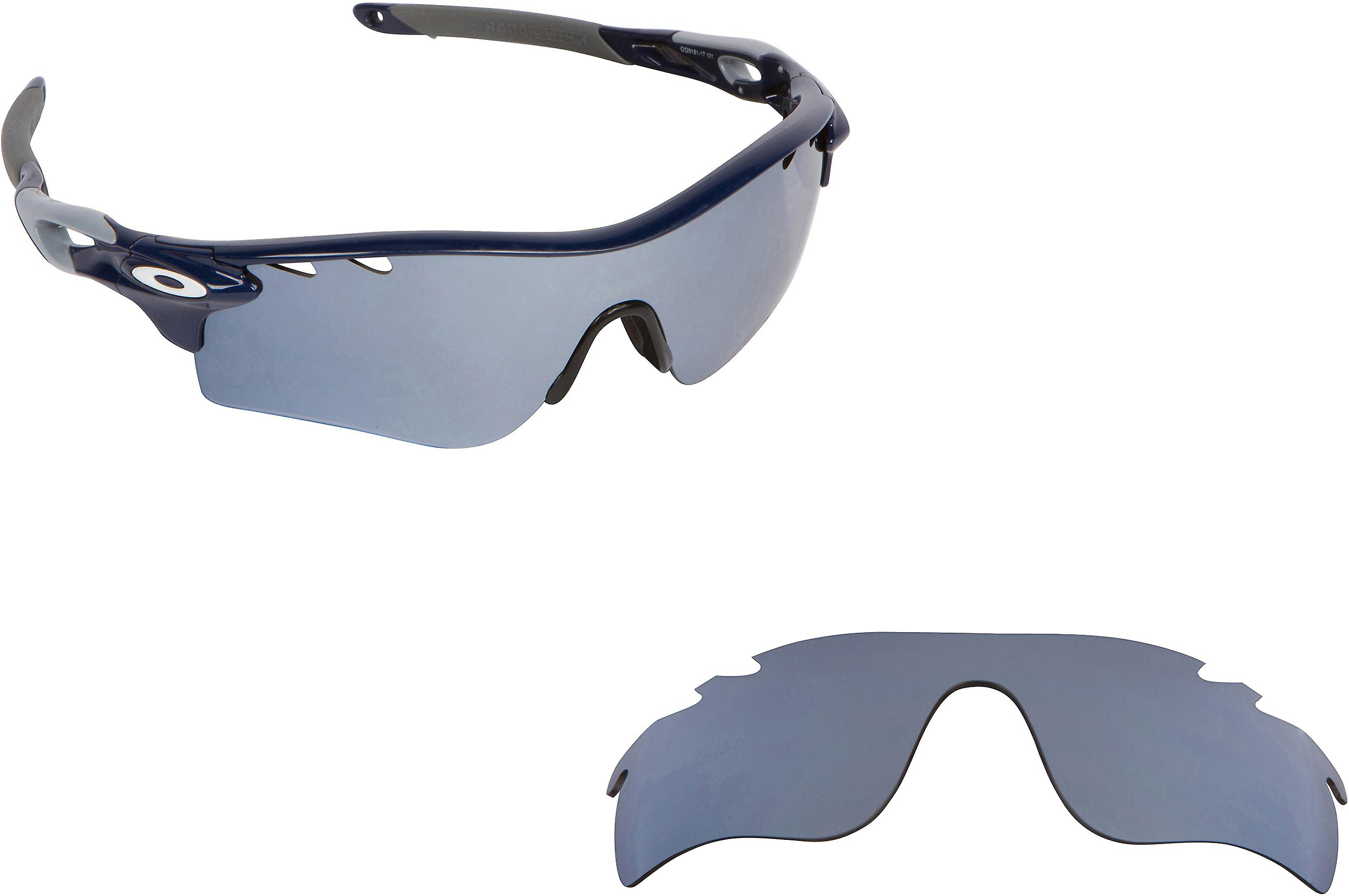 9ebe3349c4 Vented Radarlock Path Replacement Lenses Silver by SEEK fits OAKLEY  Sunglasses