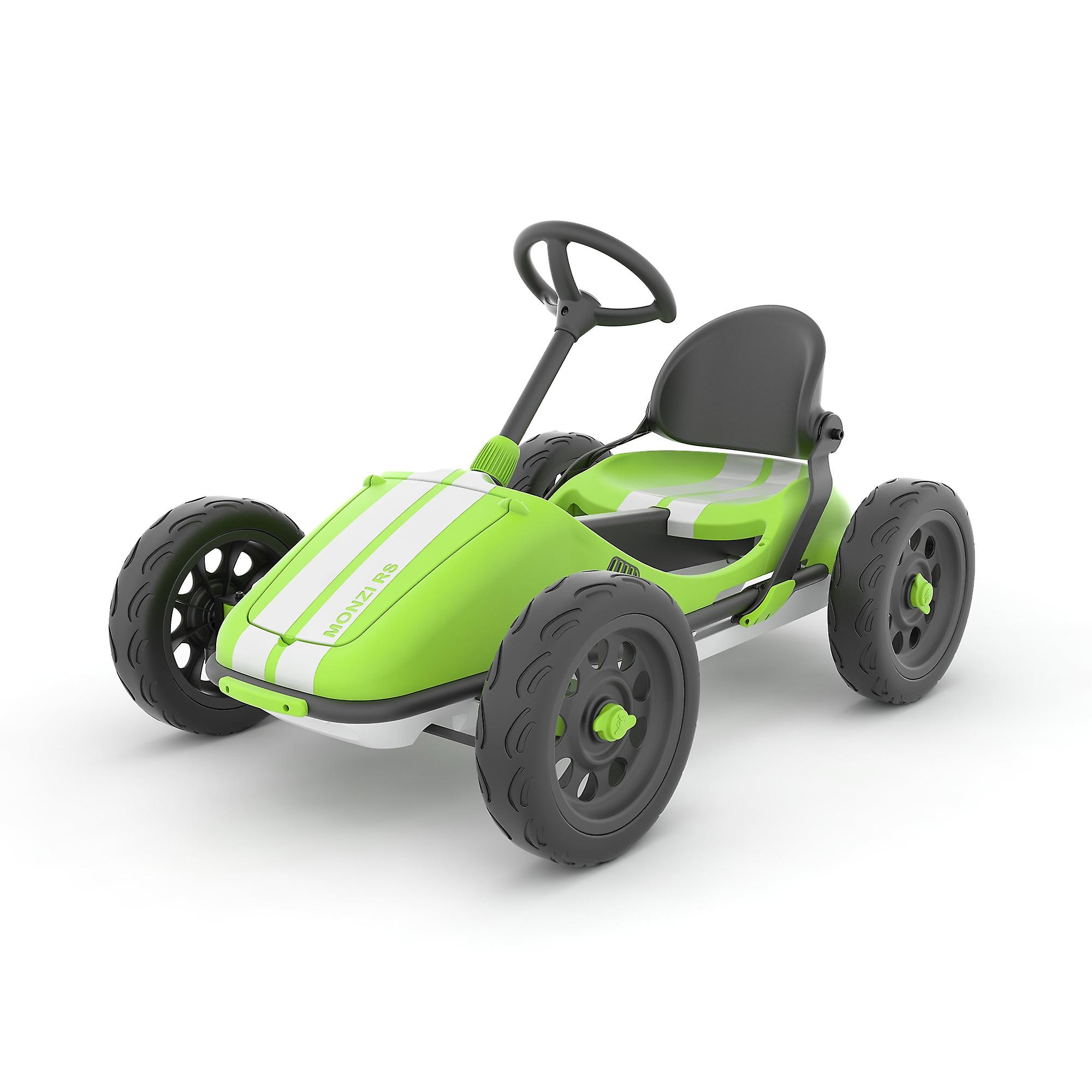 Chillafish Monzi Rs Foldable Pedal Go Kart Lime Ages 3 7 Years