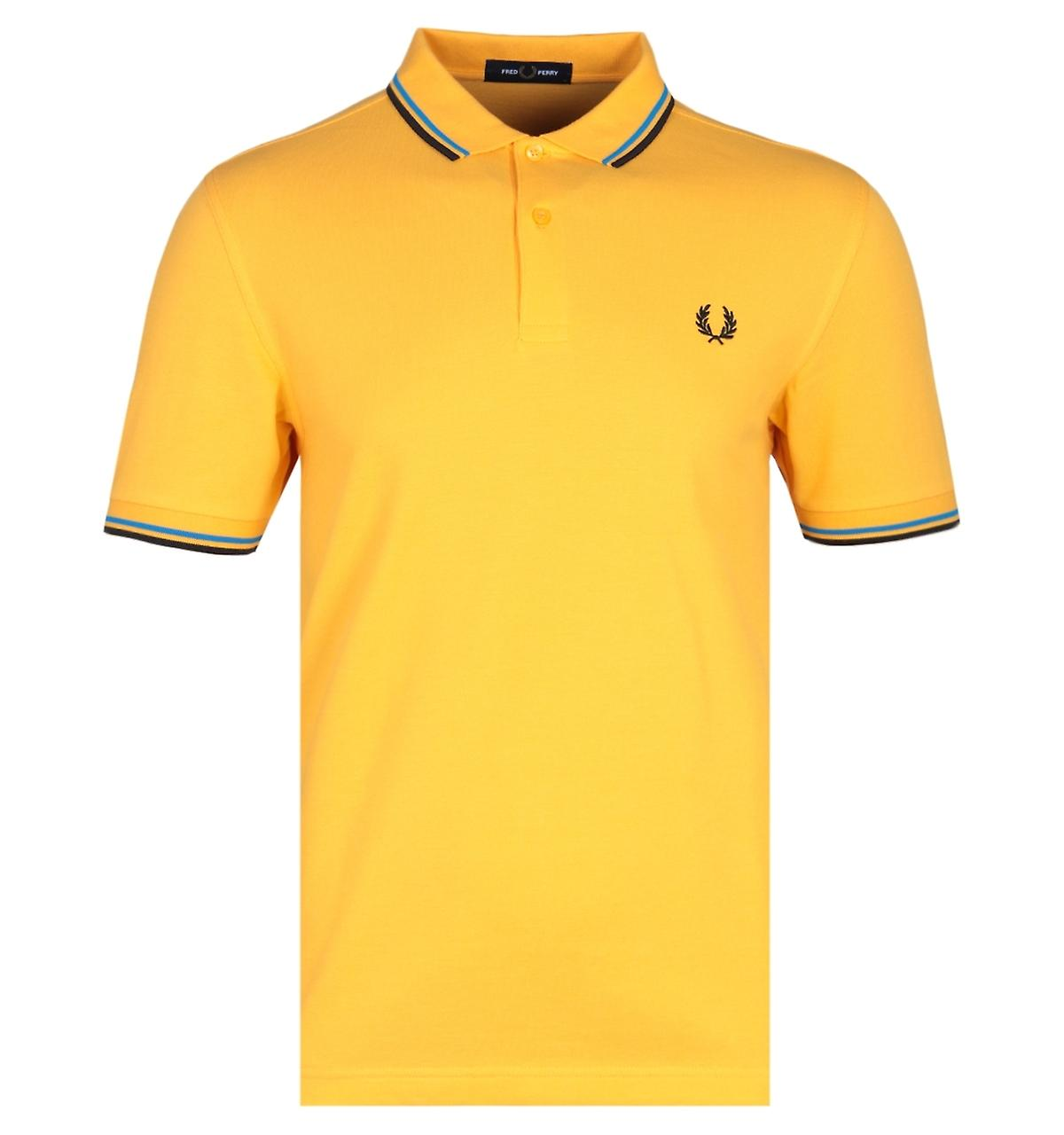 yellow polo shirt uniform