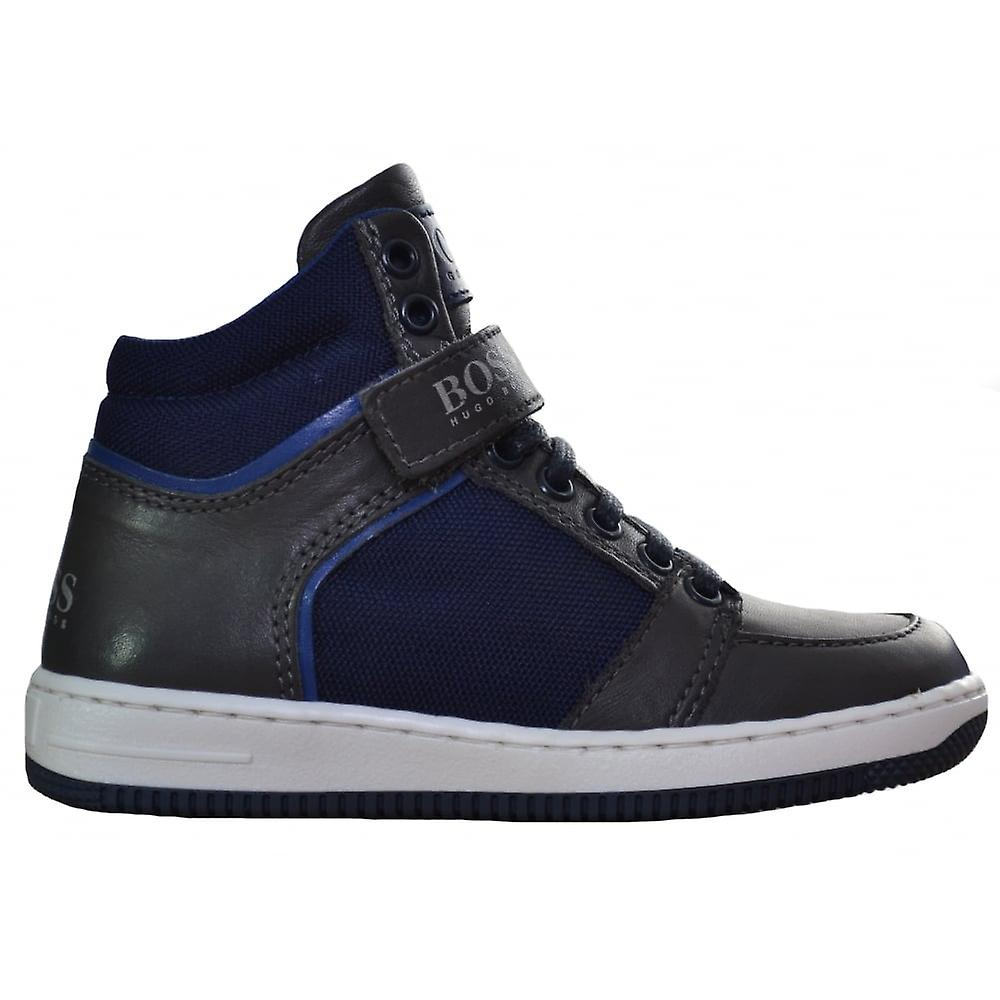 11822d8a8638d Hugo Boss Boys Hugo Boss Navy Blue High Tops