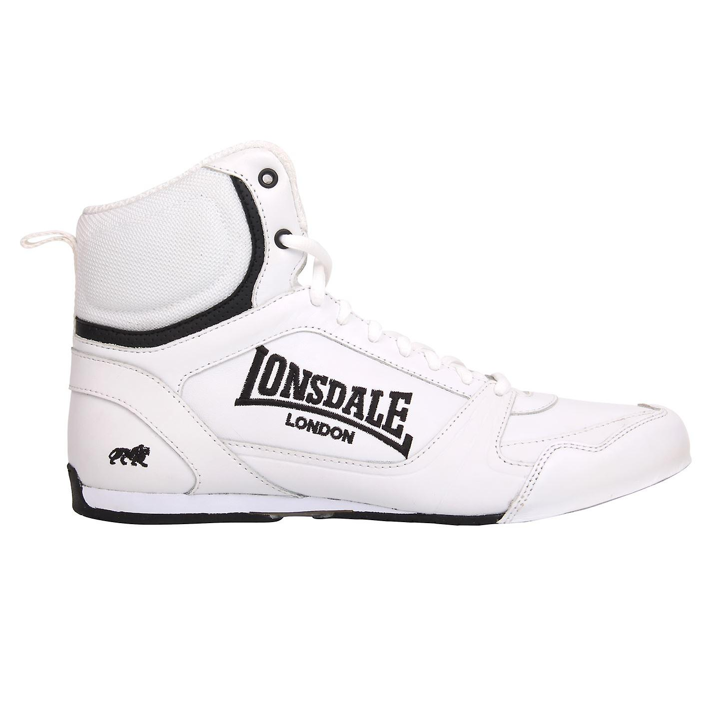 Lonsdale Mens Boxing Stiefel Training Lace Up Schuhe Trainer Sportschuhe
