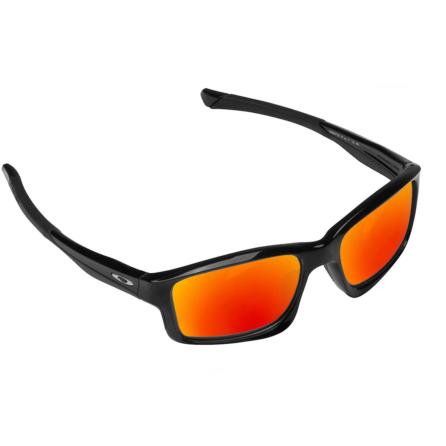 59f619bbb2 CHAINLINK Replacement Lenses Polarized Blue   Red by SEEK fits OAKLEY  Sunglasses