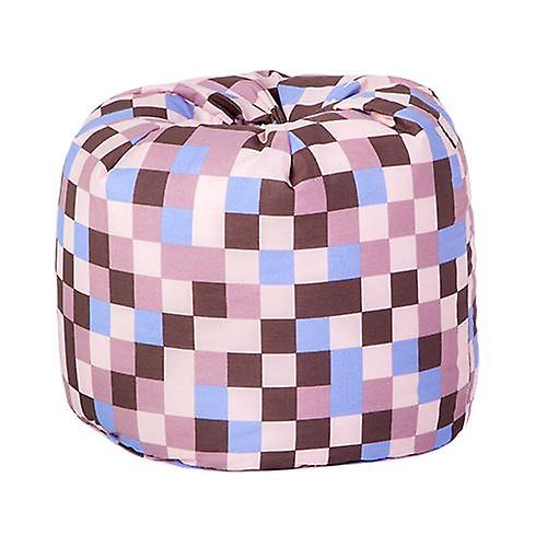 Remarkable Small Childrens Design Polycotton Bean Bag Pixels Brown Ocoug Best Dining Table And Chair Ideas Images Ocougorg
