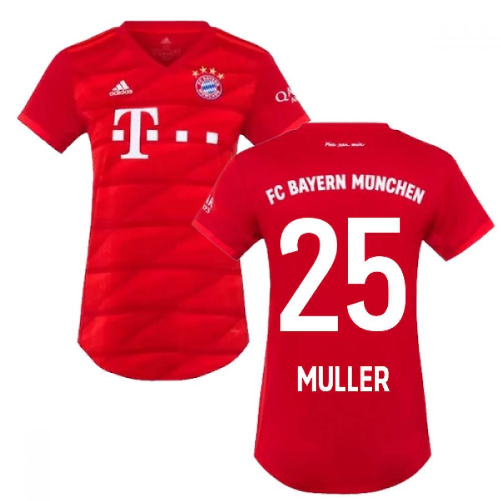 new styles 368c0 4ee58 2019-2020 Bayern Munich Adidas Home Womens Shirt (MULLER 25)