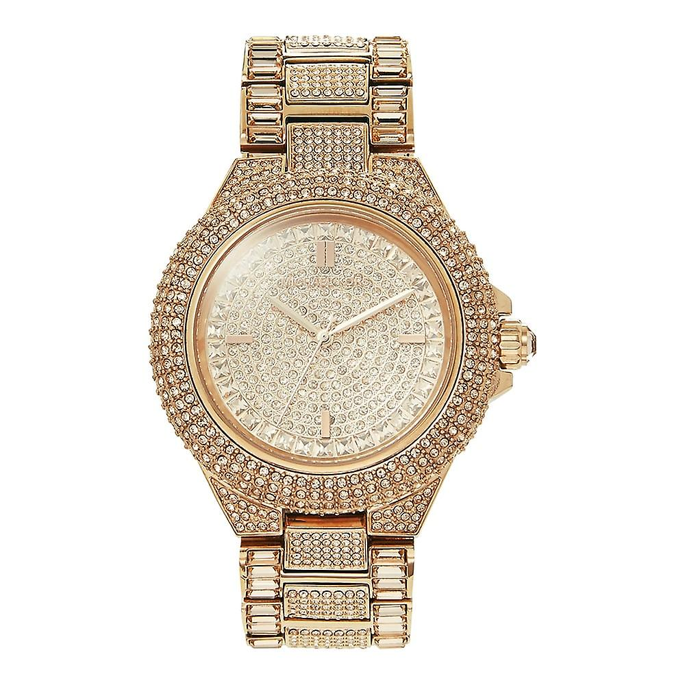 Michael Kors Watches Mk5862 Glitz Camille Rose Gold Stainless Steel