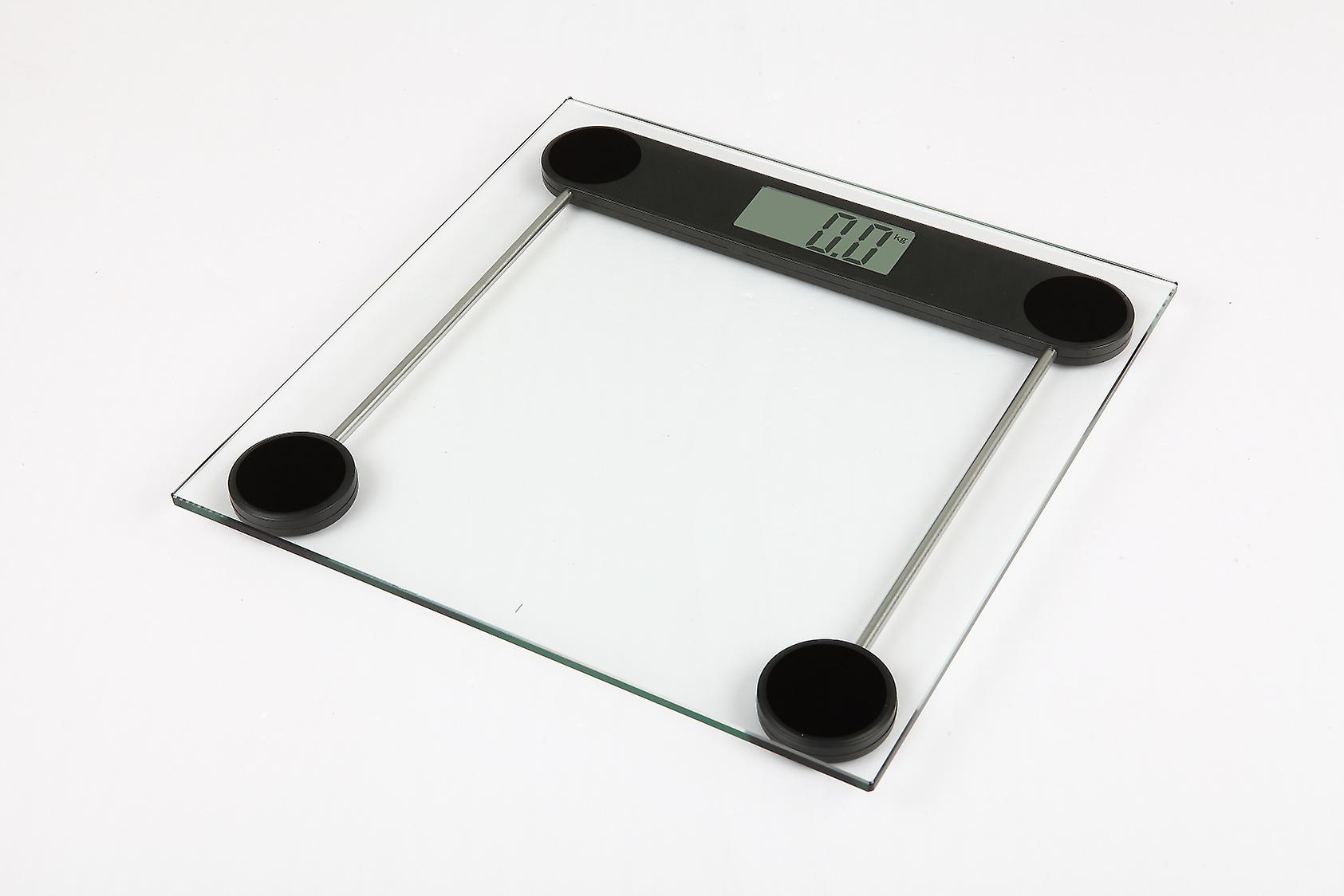 kabalo 180kg modern glass household bathroom scales premier electronic digital personal scale with large lcd - Bathroom Scales