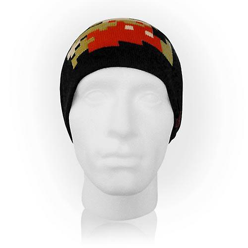 918b1d9b123 NINTENDO Super Mario Bros. Pixelated Running Mario Beanie Black  (KC061906NTN)
