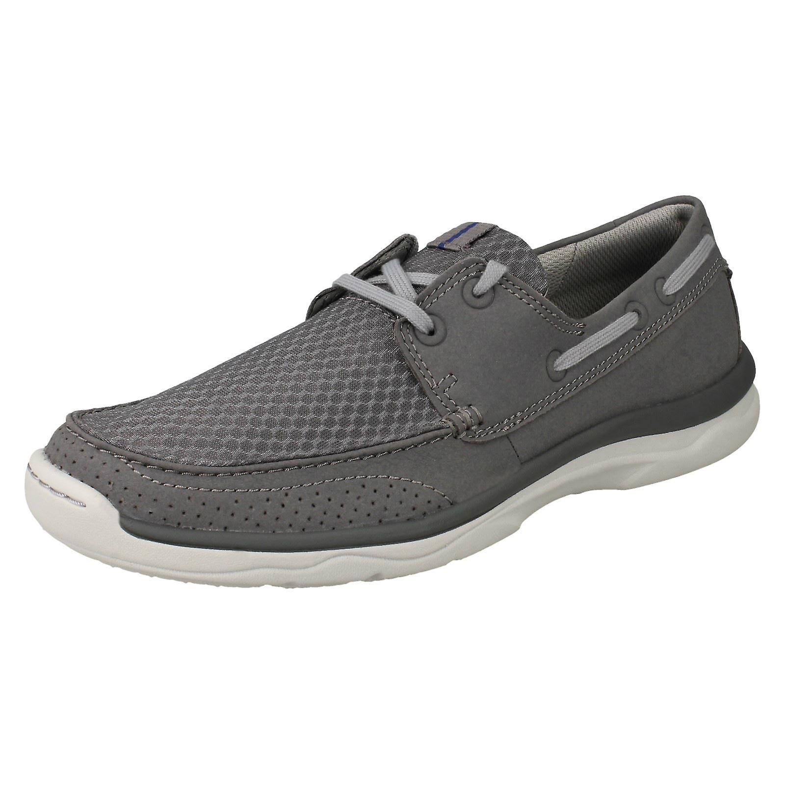 Herren Clarks Cloudsteppers Lace Up Casual Schuhe Marus Rand