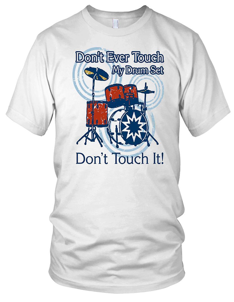Step Brothers Don T Jemals Berühren Meine Drum Herren T Shirt Set