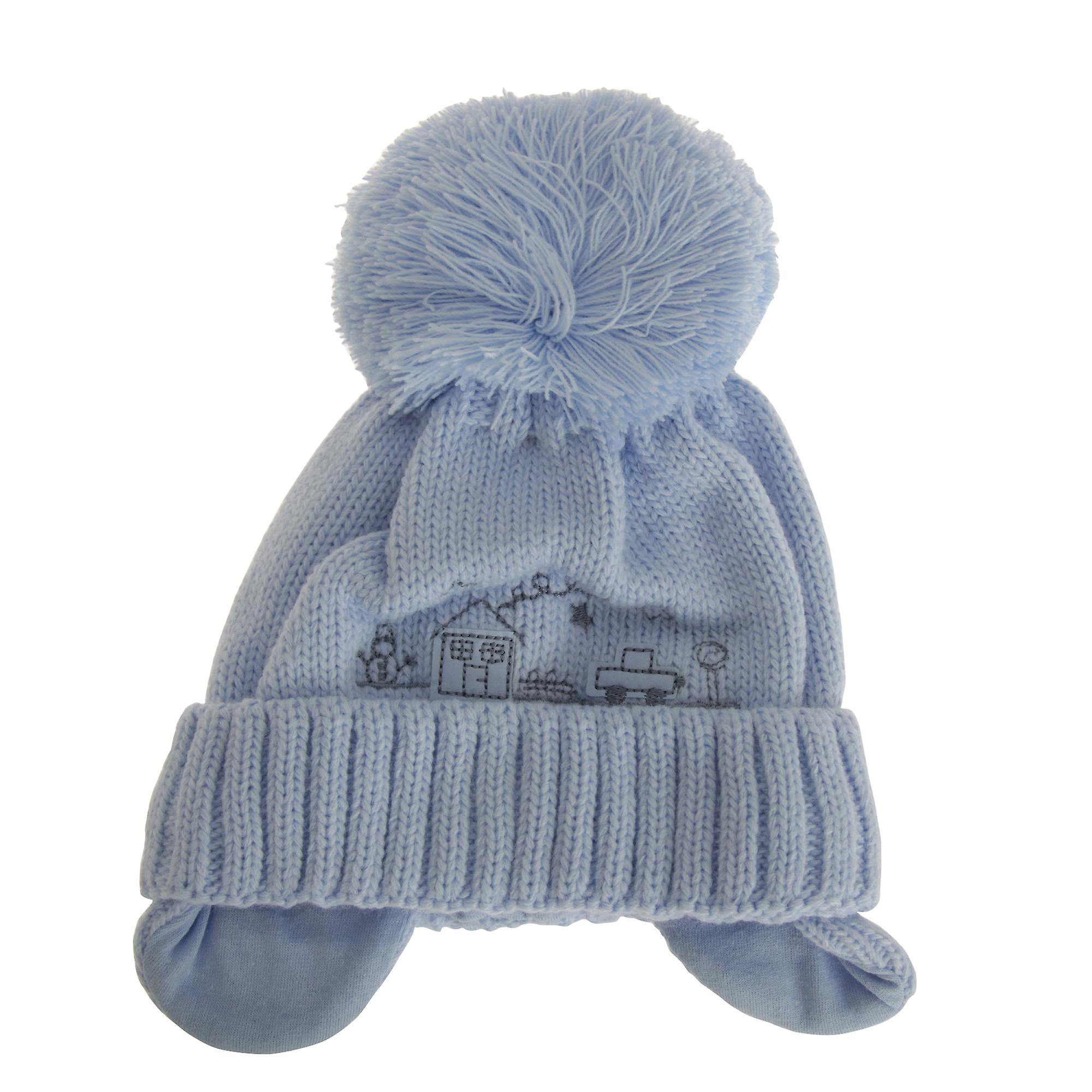 f514f8c60ee Baby Boys Winter Bobble Hat