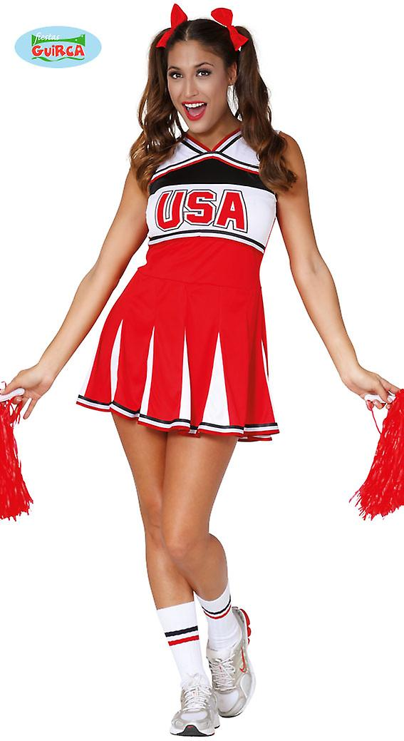 Sexy Cheerleader Kostum Fur Damen Karneval Fasching Sport Football