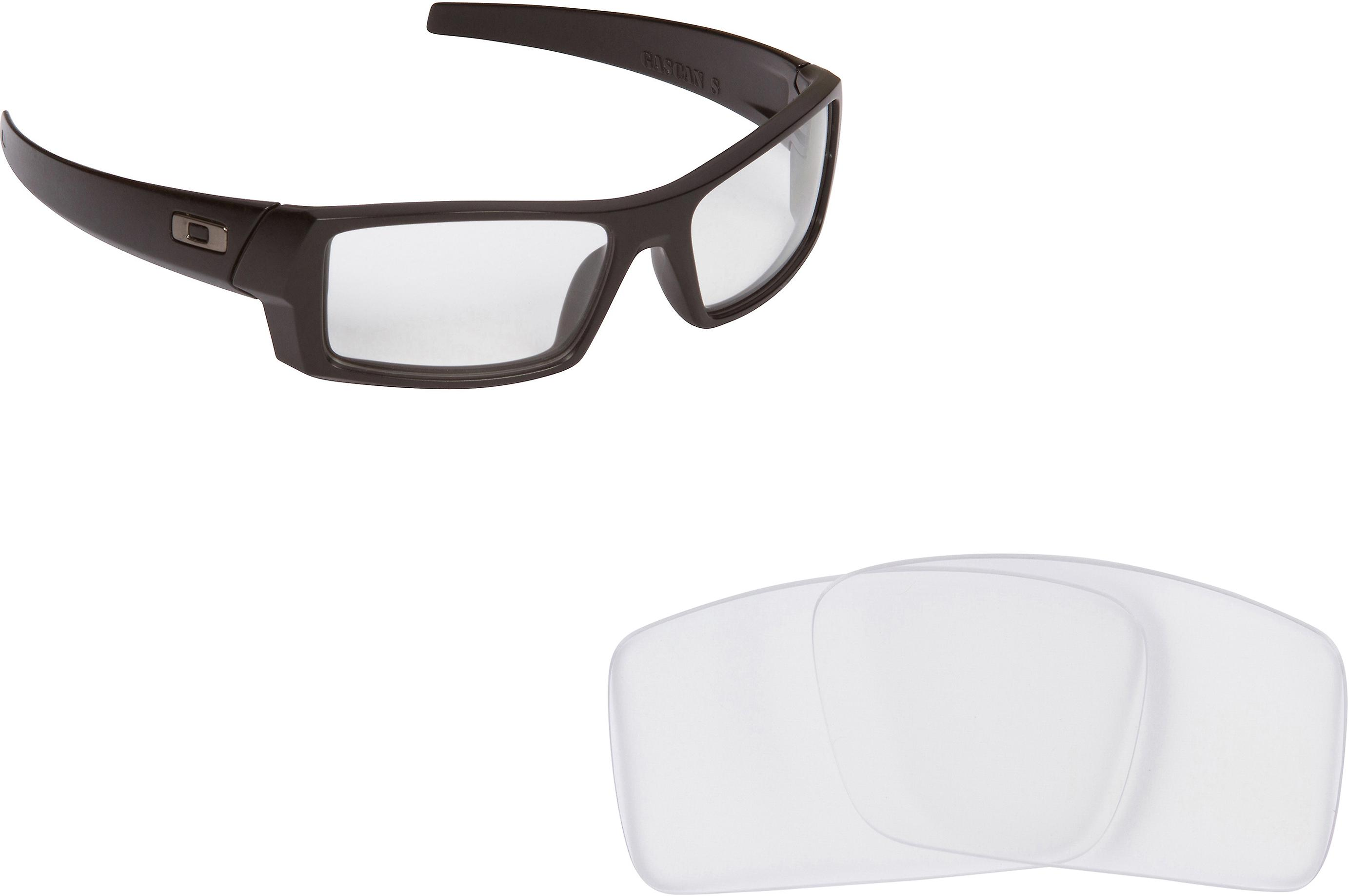 d5d10e7b2ac9e Gascan S Replacement Lenses Crystal Clear by SEEK fits OAKLEY Sunglasses