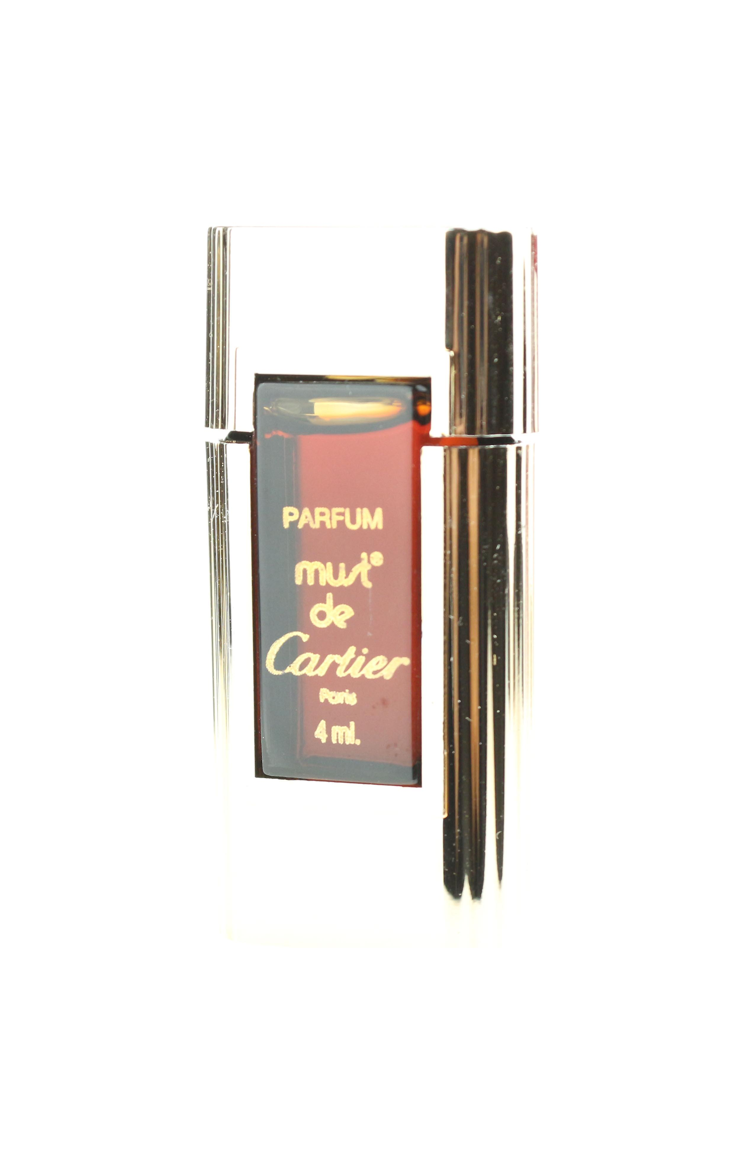 Cartier Must De Cartier Parfum 013oz Original Formula Splash