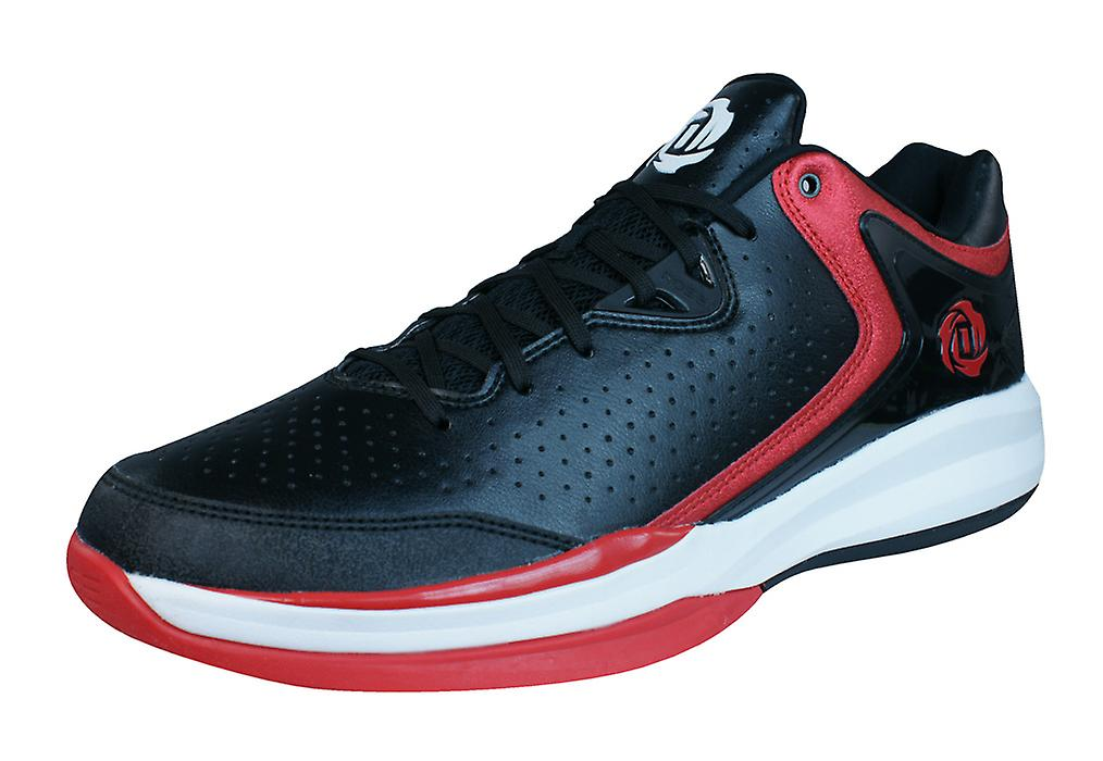 new product fa594 ed7c4 adidas D Rose Englewood III Mens Basketball Trainers  Shoes - Black