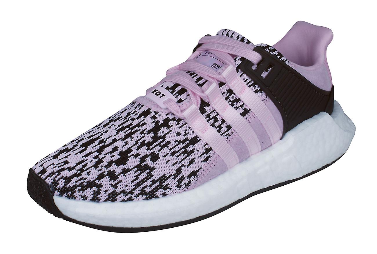new product 86db9 94269 adidas Originals EQT Support 93/17 Mens Trainers / Shoes - Pink and Black