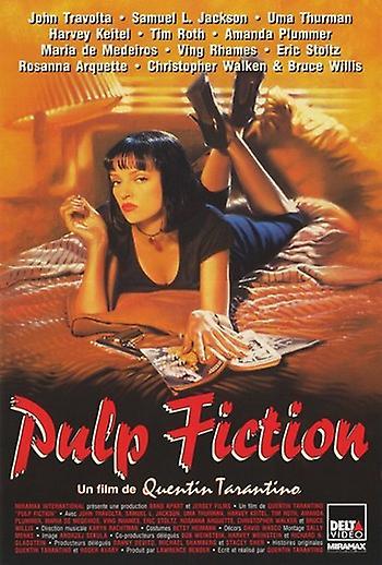 Pulp fiction original movie posters