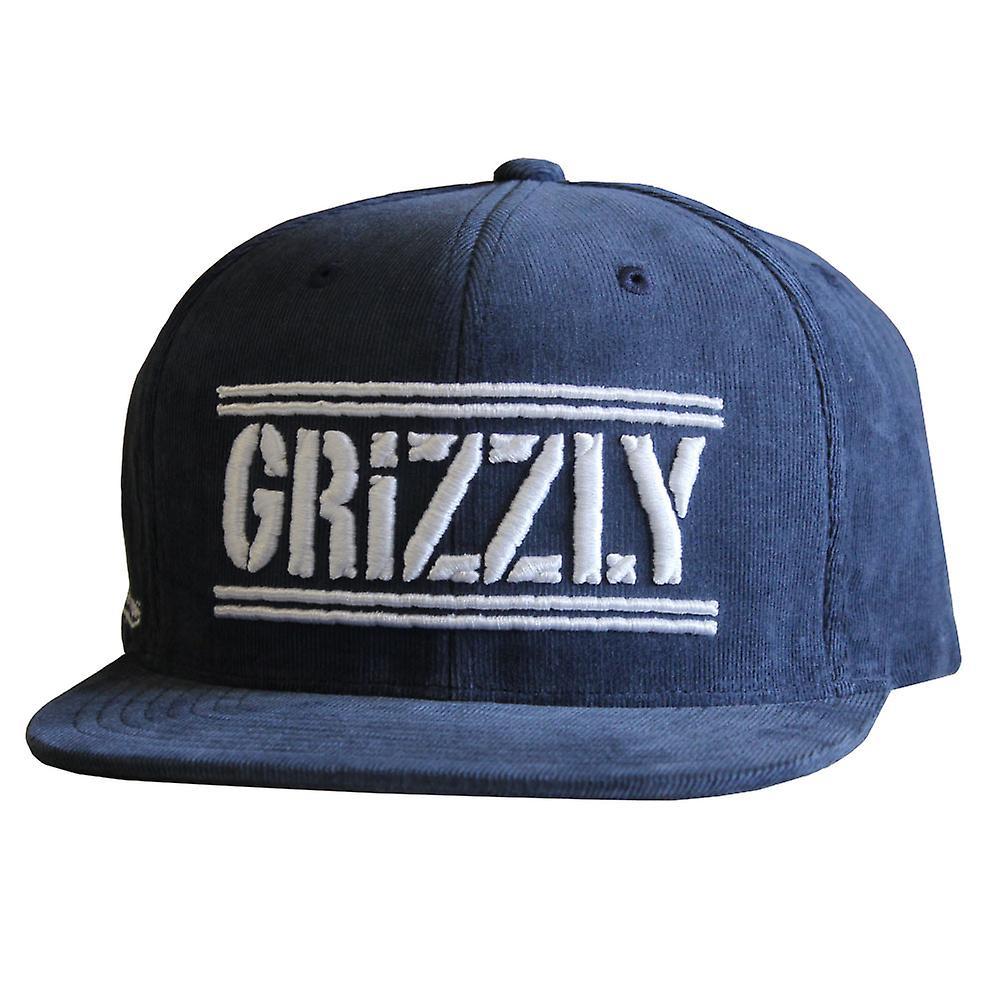 Grizzly Griptape Hunters Snapback Navy db7f431f129