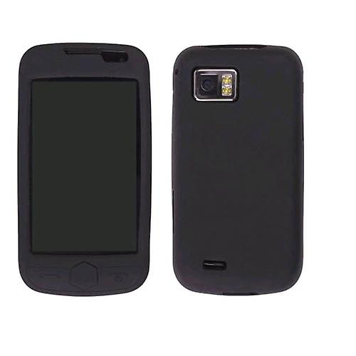 Wireless Solutions Silicone Gel Case for Omnia 2 SCH-I920 - Black ... 2a0206644d58f