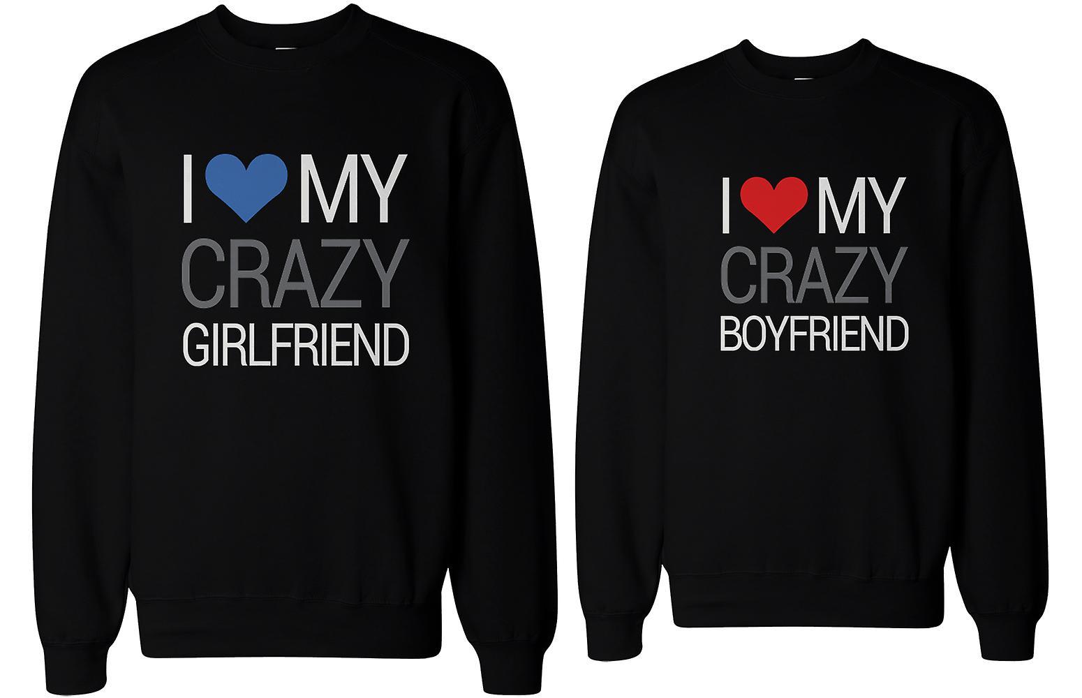 pojkvän och flickvän tröjor